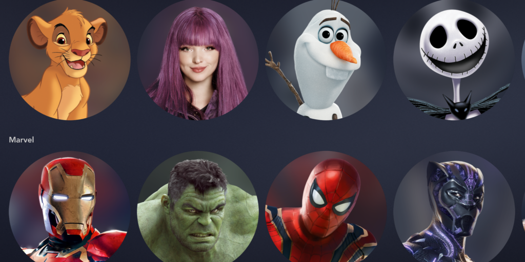 What Icons/Avatars Does Disney+ Have? | What's On Disney Plus