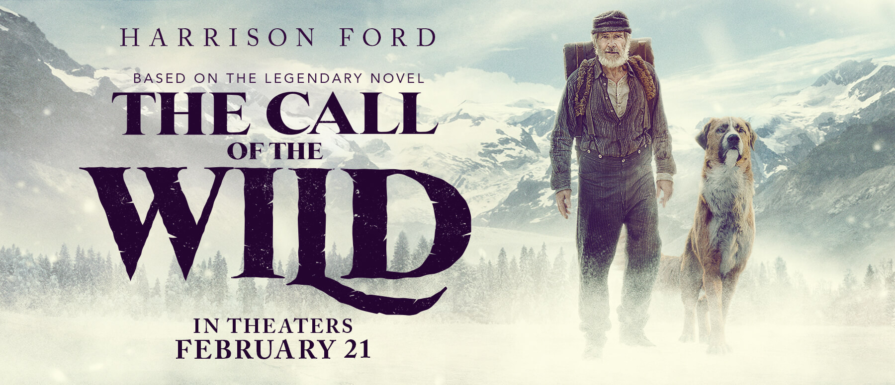 Image result for call of the wild movie poster