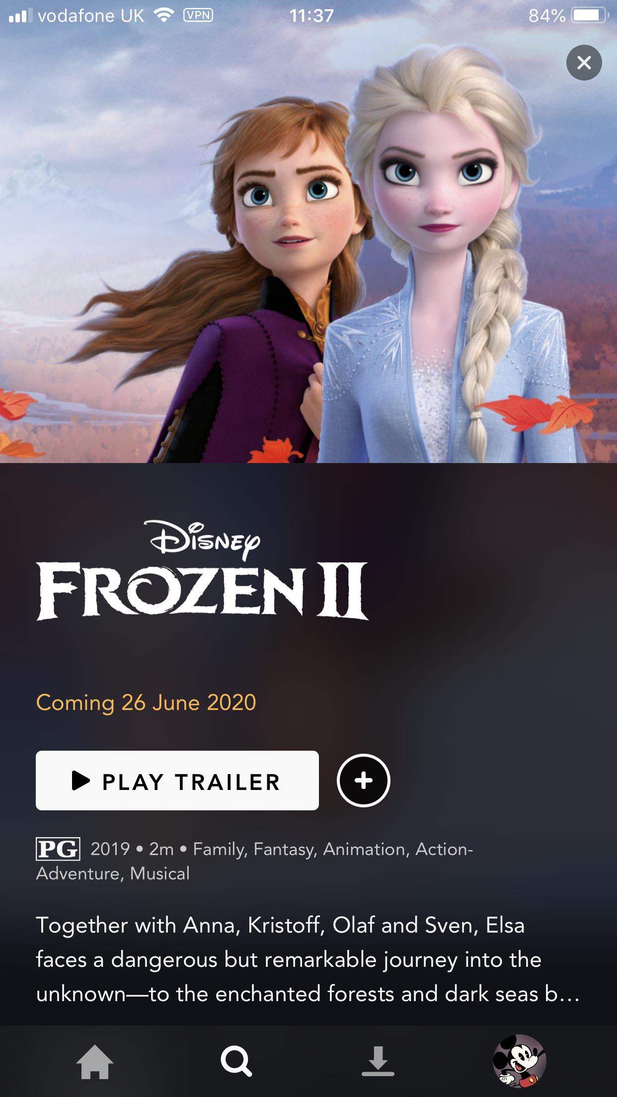 When Will Frozen 2 Be On Disney+ ? | What's On Disney Plus