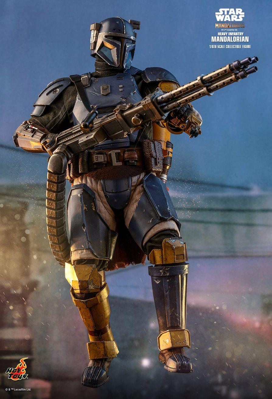 Star Wars Mandalorien Disney Série Black Heavy Infantry Phoenix beskar Armor
