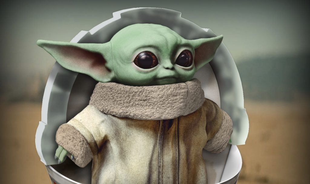 "The Mandalorian ""Baby Yoda"" Plush Coming Soon | What's On"