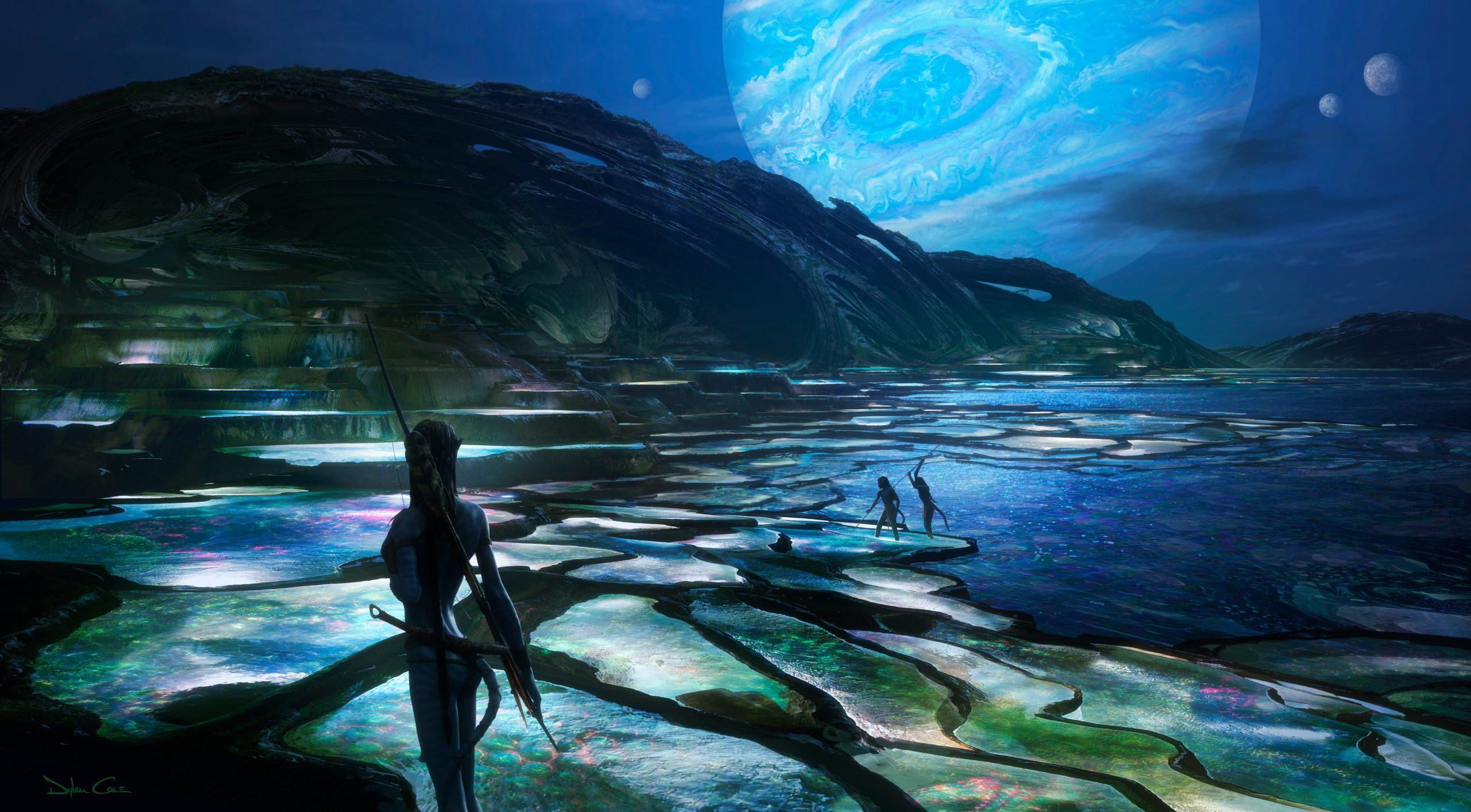 James Cameron unveils the first Avatar 2 concept art