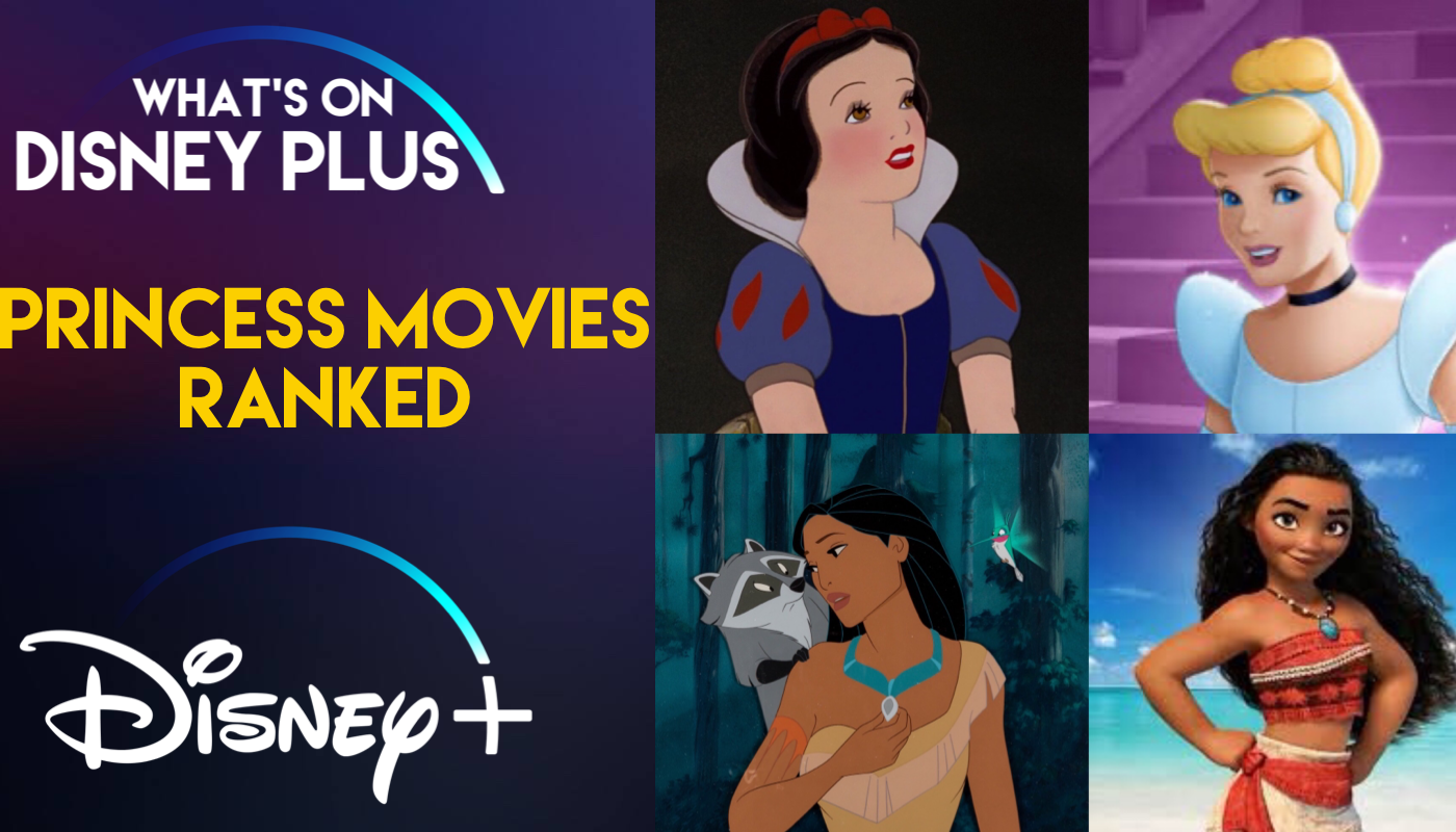 """Top 15 Featured """"Princess"""" Movies On Disney+   What's On ..."""