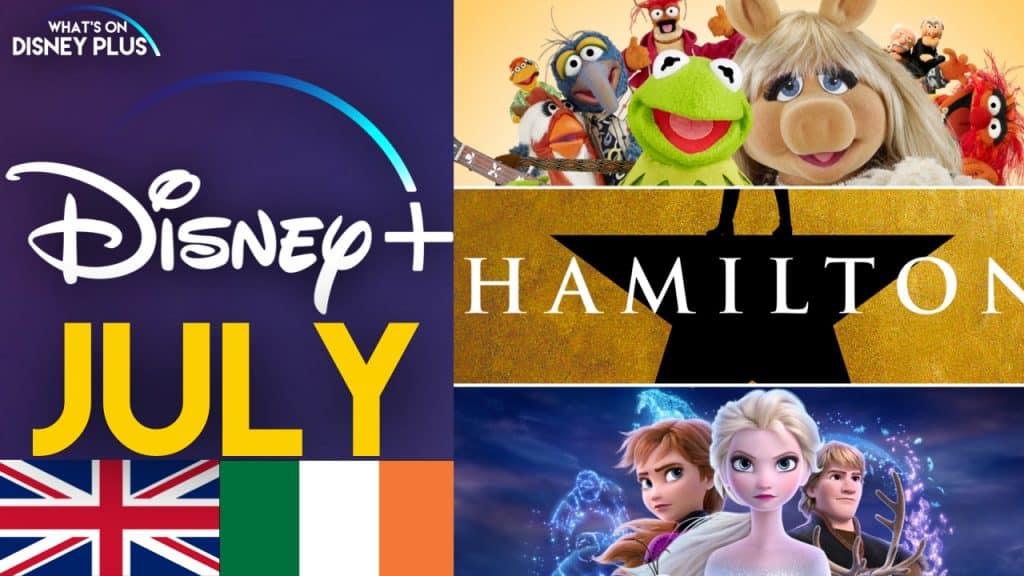 Disney Plus Juli