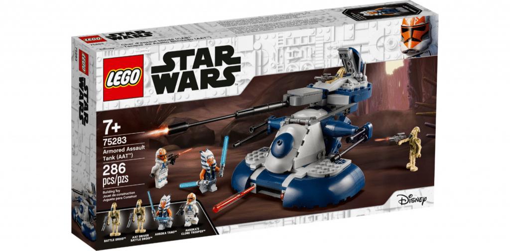 lego star wars the clone wars armored assault tank set