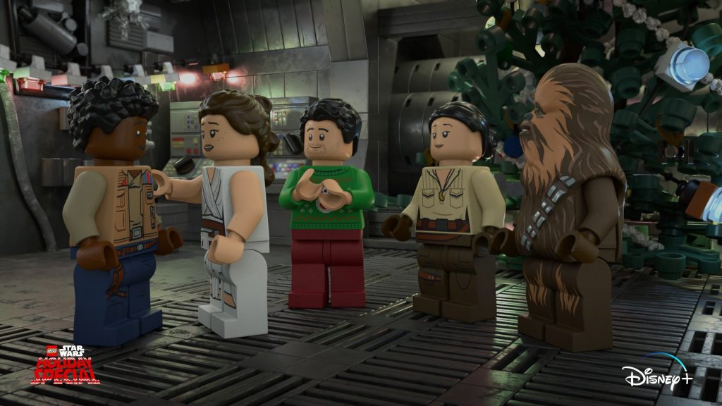 Disney's x LEGO's 'Star Wars Holiday Special'