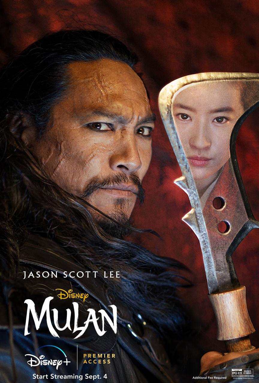 New Mulan Character Posters Released What S On Disney Plus