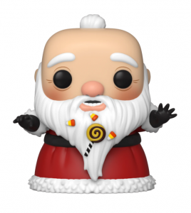 Santa Claus is startled