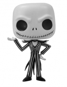 A skeleton poses with his hand up