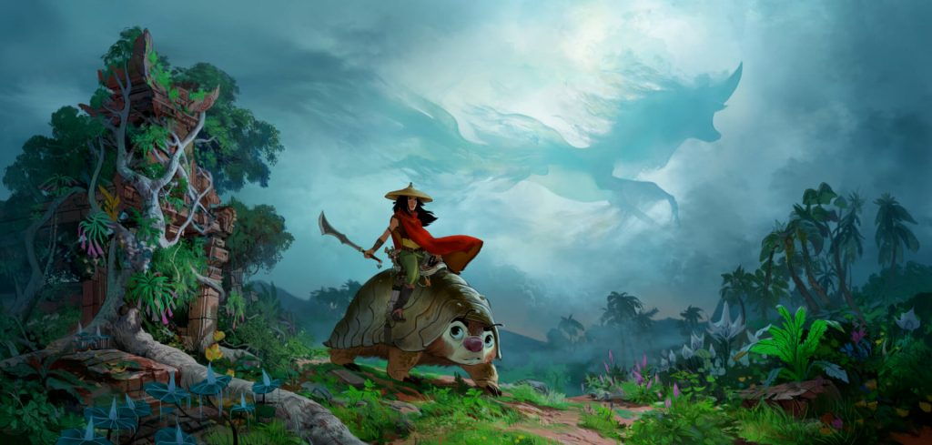 """Raya And The Last Dragon"""" Poster Released 