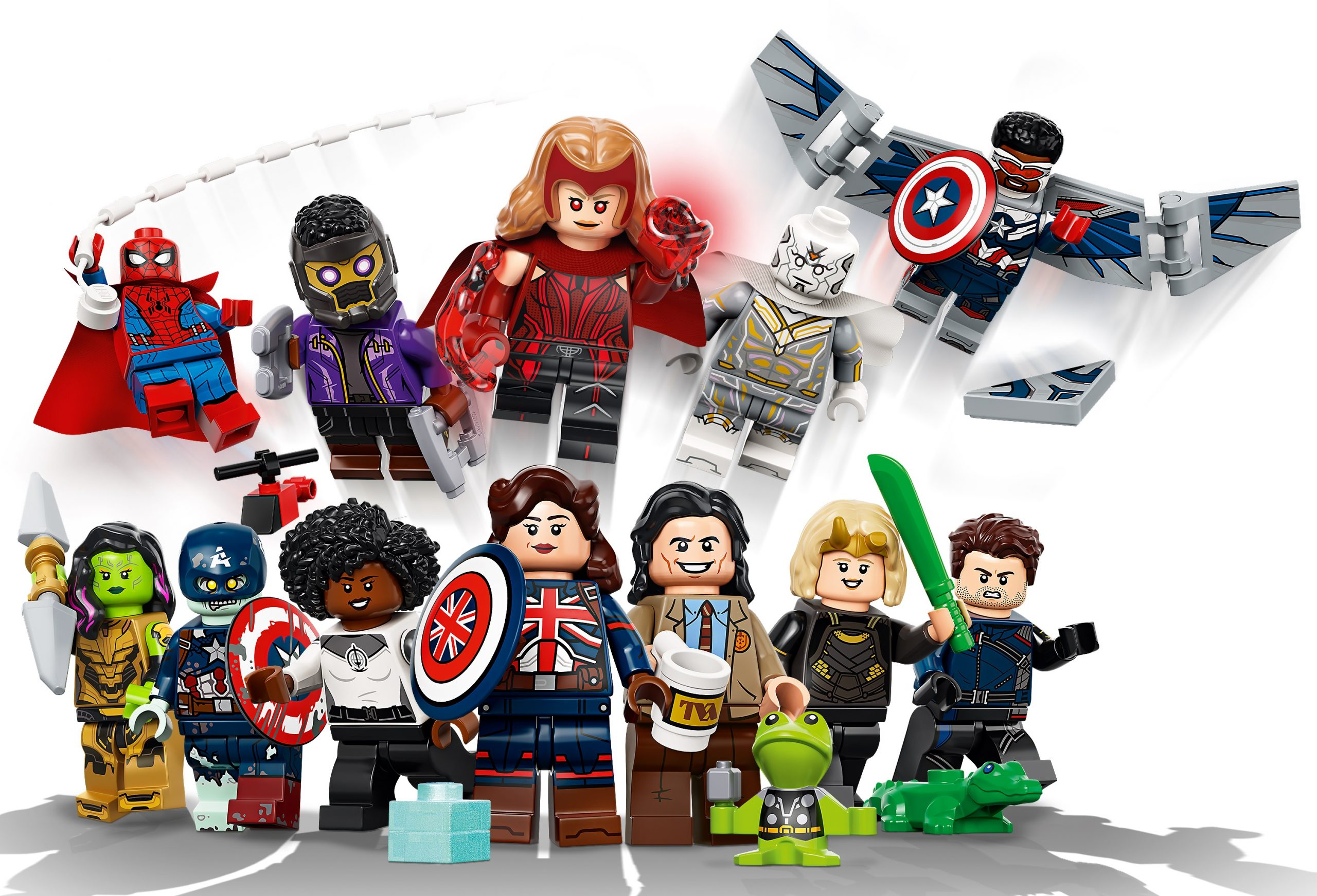 New Lego Marvel Disney Series Minifigure Collection Coming Soon What S On Disney Plus