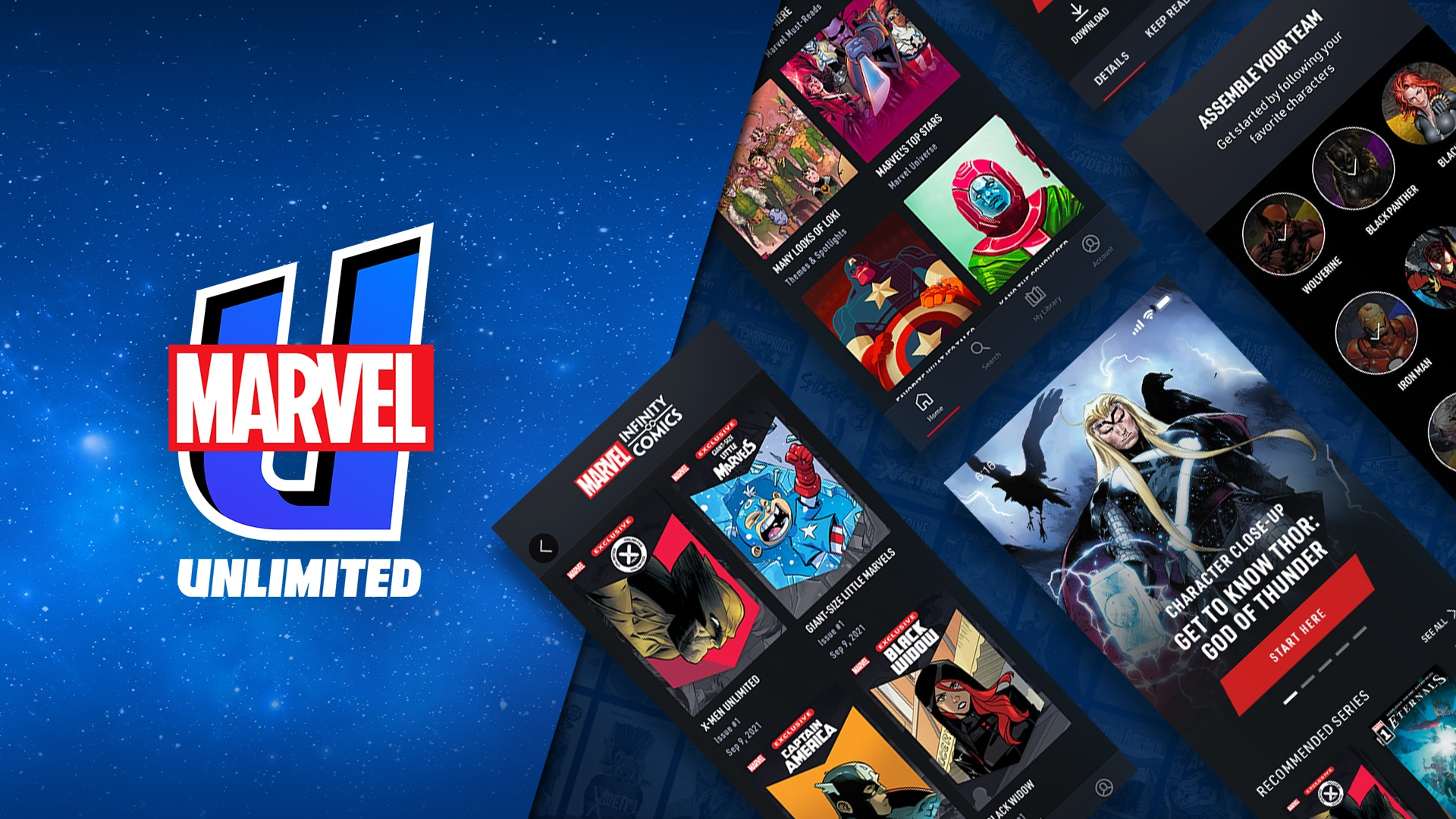 Marvel Unlimited Relaunches With An All New App | What's On Disney Plus